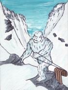 yeti sledding